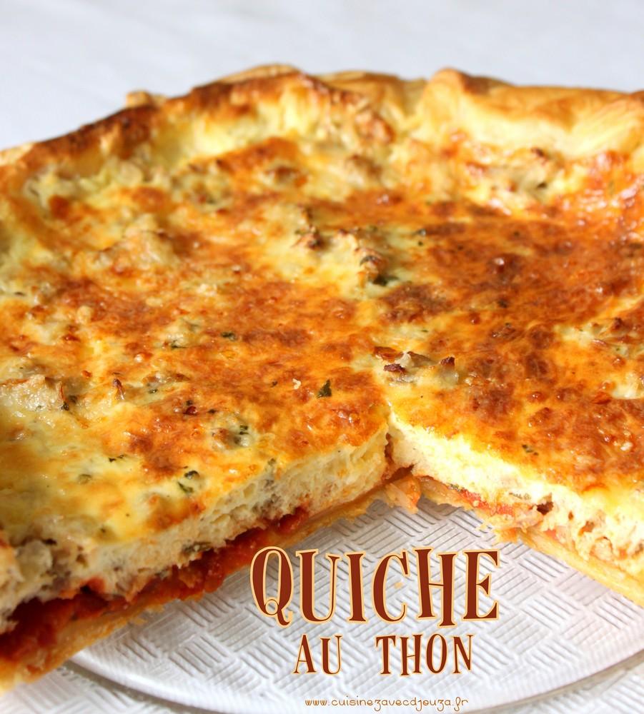 Cake Au Thon Et Noix