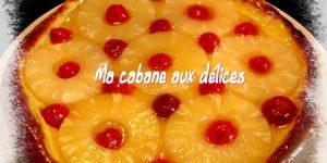 Tarte briochée a l'ananas