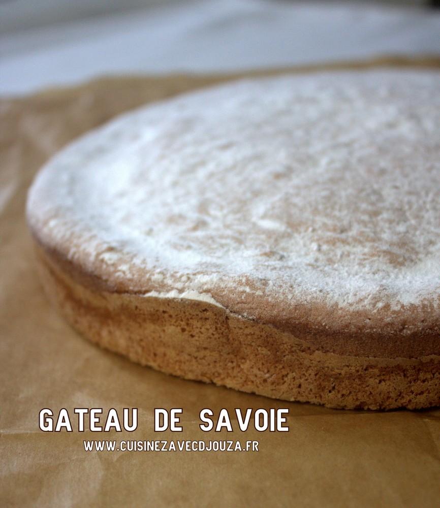 Gateau de Savoie, gateau mousseline
