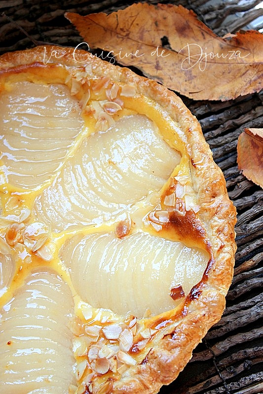 Tarte aux poires au sirop