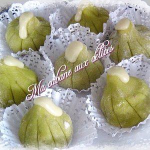 Figues en pâte d'amande maison (massepain)