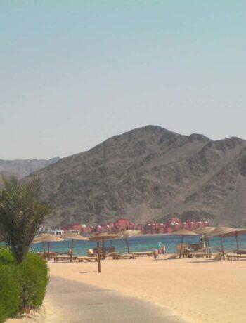 Vue du Sinaï en Egypte