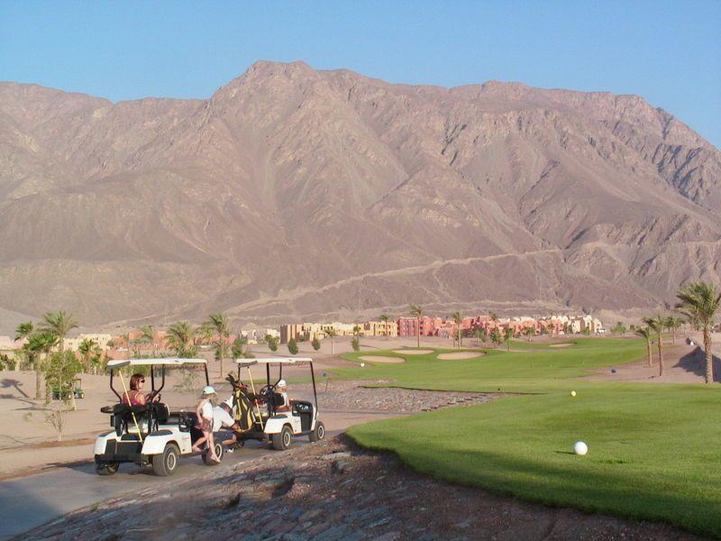 Terrain de golf de l'hotel