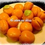 Abricots pate d'amande