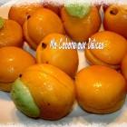 Abricots en pate d'amandes, gateau algerien