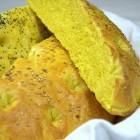 Recette pain turc au curcuma