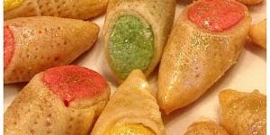 Babouches Marocaines aux amandes