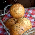 Buns ou pains burger maison
