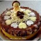 Bavarois poires chocolat, les photos