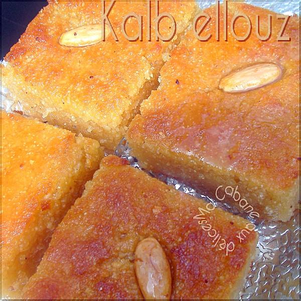 Kalb ellouz au yaourt ou lben, recette ramadan