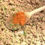 parfumer avec du curry, du paprika