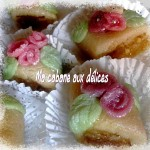 Kefta gateau à la pâte d'amande maison