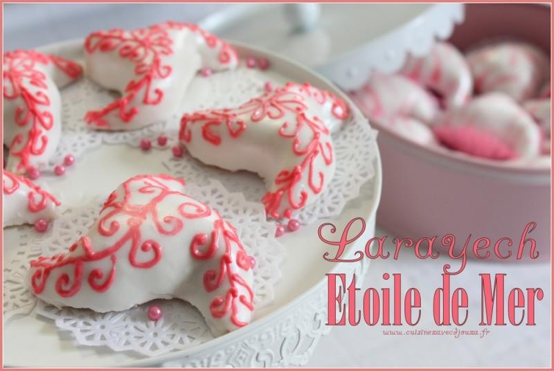 Etoiles de mer arayech gateau algerien recettes - Decoration gateau traditionnel algerien ...