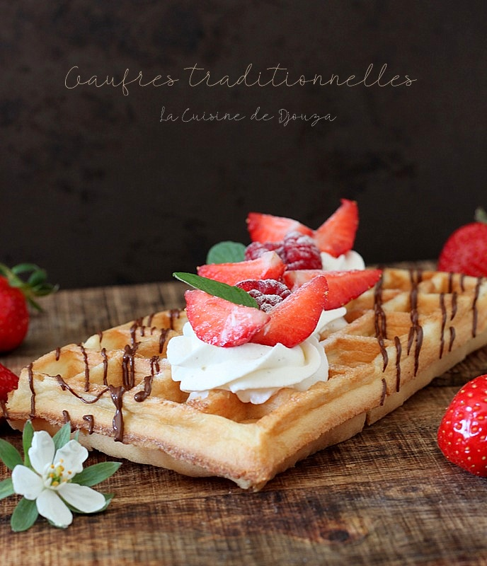 Pâte à gaufre traditionnelle