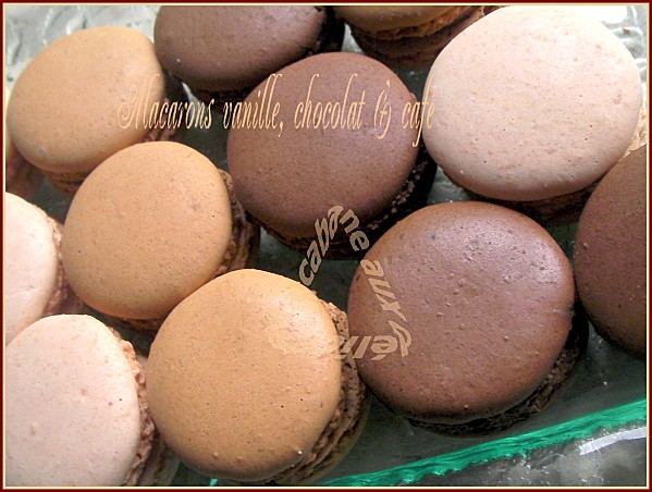 Macarons vanille chocolat café 020