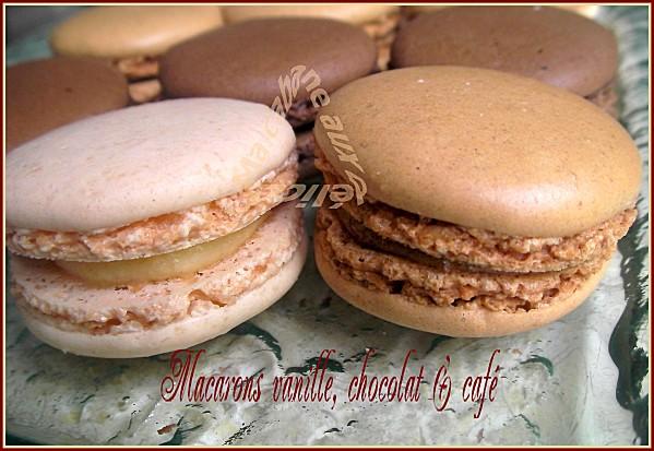 Macarons vanille chocolat café 027