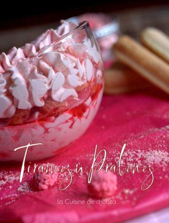 Recette de st valentin dessert aux pralines