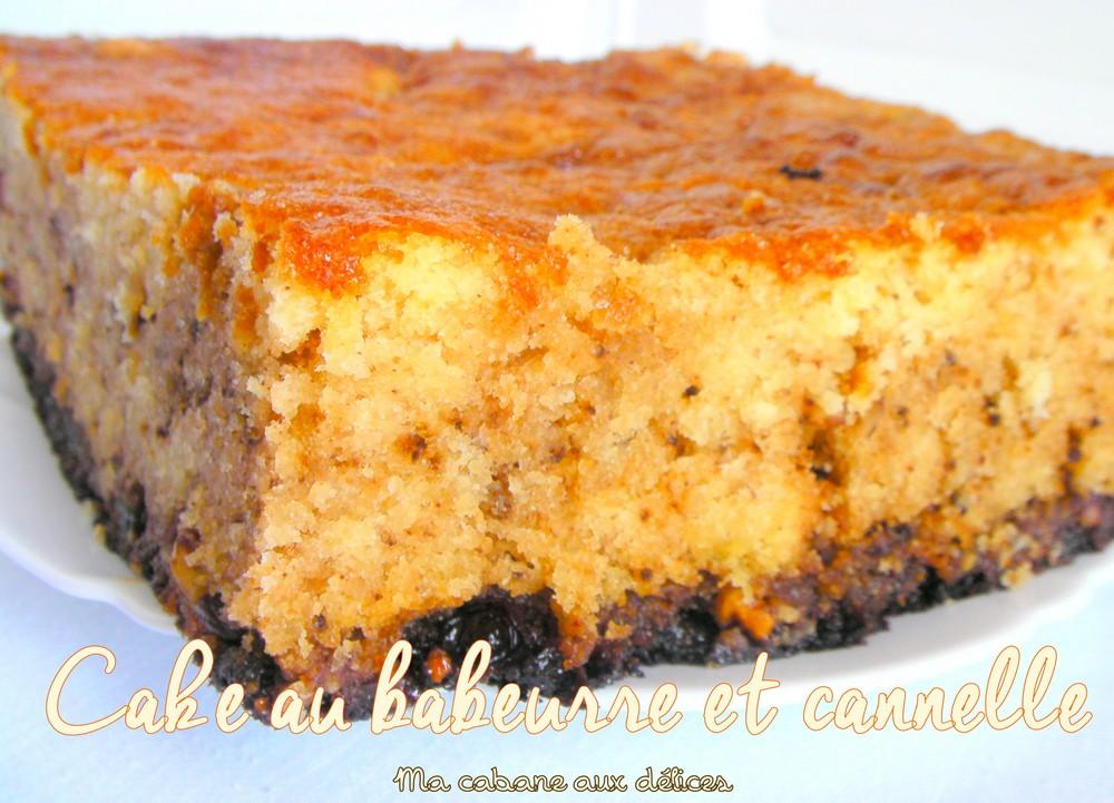 Cake au babeurre lben