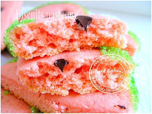 Biscuits pasteque 005