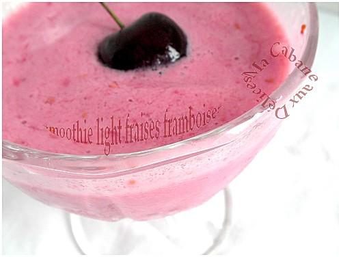 Smoothie fraises framboises 007