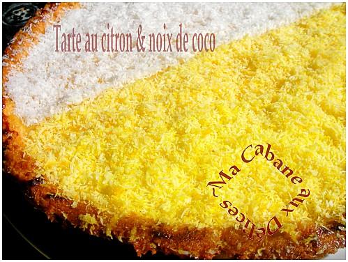 Tarte au citron noix de coco (2)