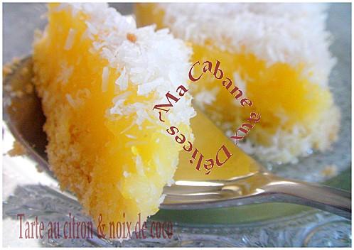 Tarte au citron noix de coco (9)
