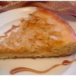 Tarte briochée aux pommes et cannelle amandes