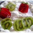 Génoise aux fruits et chantilly