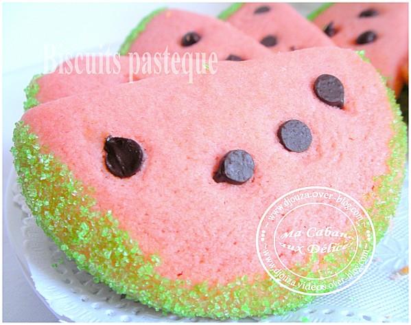 Biscuits pasteque 006