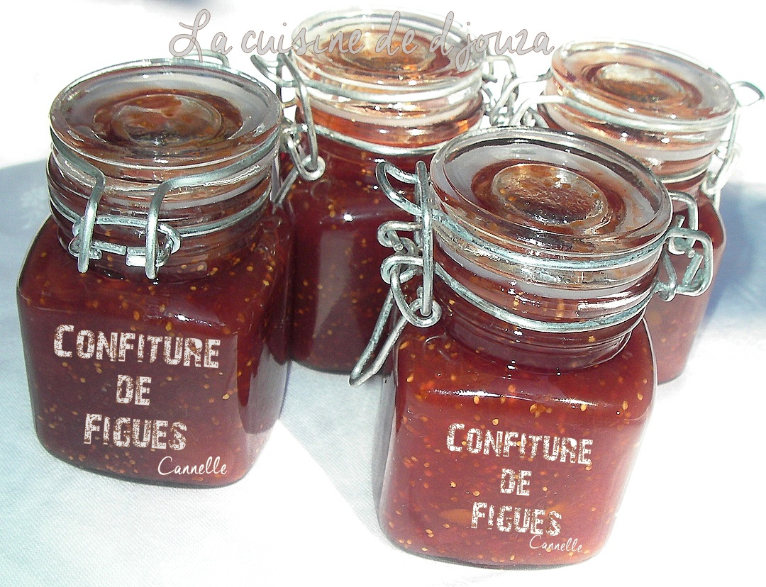 Confiture de figues à la cannelle