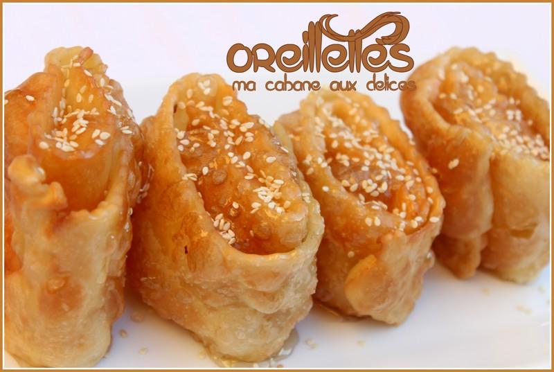 Oreillette algerienne khechkhach la cuisine de djouza - Recette de cuisine algerienne traditionnelle ...