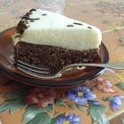 Biscuit brownie chocolat mousse aux poires