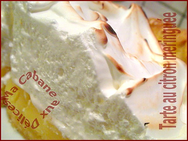 Tarte au citron meringuée facile, meringue italienne