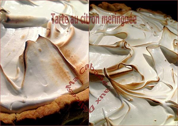 Recette tarte au citron meringu e facile la cuisine de djouza - Tarte au citron meringuee facile ...