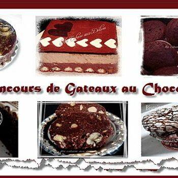 gâteaux chocolats participants au concours