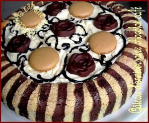 Gateau d'anniversaire chocolat café