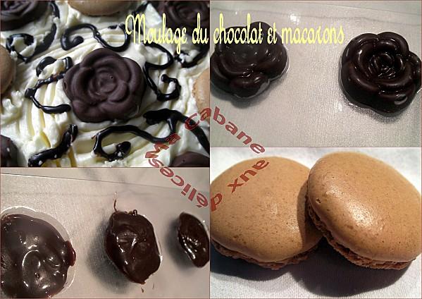 gateau d'anniversaire chocolat café montage 2