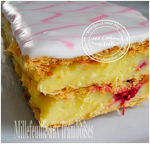 Millefeuille aux framboises 001