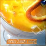 Tiramisu à l'orange