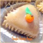 Triangles amandes oranges, gateau algerien