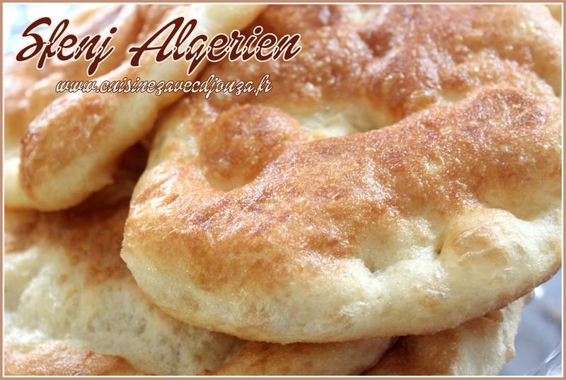 sfendj beignet rond algerien