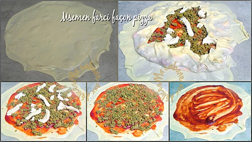 Msemen pizza photo 1