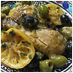 Poulet au citron et olives photo 1