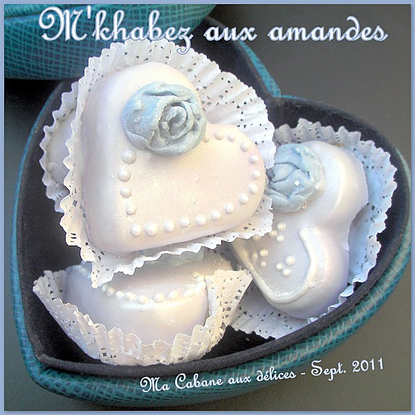 M'khabez amandes gateau traditionnel aux amandes