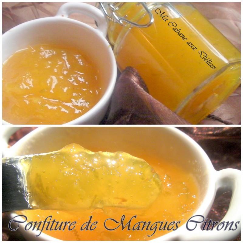 confiture mangue citron recettes faciles recettes. Black Bedroom Furniture Sets. Home Design Ideas