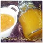 Confiture de mangue citron