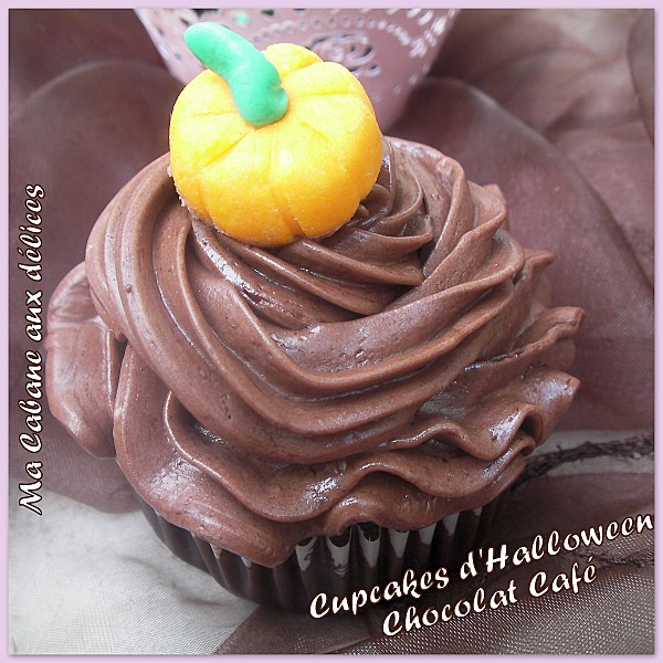 Cupcake chocolat café d'halloween photo 2