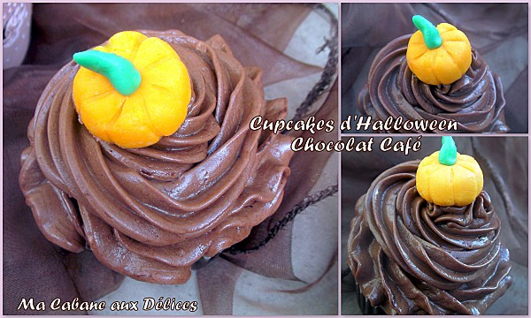 Cupcake chocolat café d'halloween photo 4