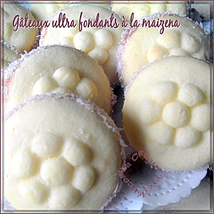 Gâteaux ultra fondant maizena photo 1