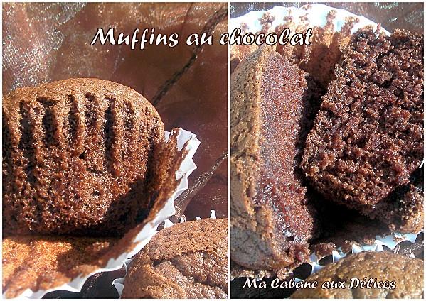 Muffins au chocolat photo 2